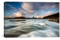 Elgol Seascape, Canvas Print