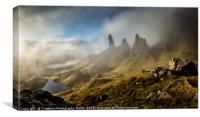 The Old Man of Storr, Isle of Skye, Canvas Print