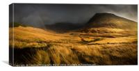 Glenbrittle Autumn Landscape, Isle of Skye, Canvas Print