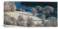 Beacons Frost, Canvas Print
