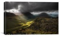 Great Gable and Ennerdale View, Canvas Print