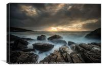 Elgol Winter Light, Isle of Skye, Canvas Print