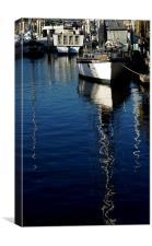 Parking Boats, Canvas Print