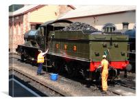 West Somerset Railway, Canvas Print