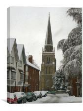 St, Helen's Church, Canvas Print