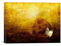 Memories of a Farmyard, Canvas Print