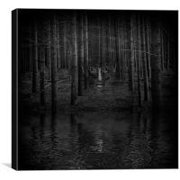Night Watchman, Canvas Print