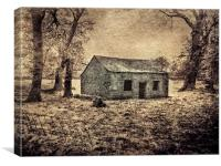 Old Building, Canvas Print