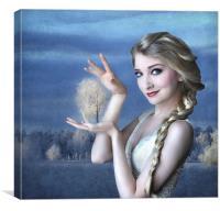 Simply Magic with Elsa, Canvas Print