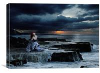 Siren, Canvas Print