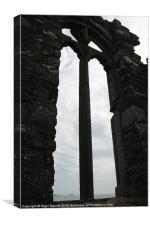 Through the Arch Window, Canvas Print