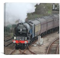 Cathedrals Express, Canvas Print