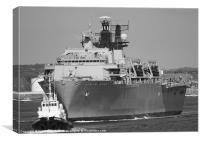 L15 HMS Bulwark, Canvas Print