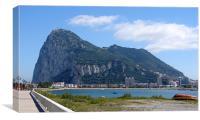 Gibraltar Rock, Canvas Print
