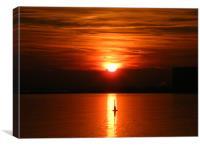 Relaxing Sun Set