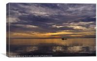 Scottish Soft Sunrise, Canvas Print