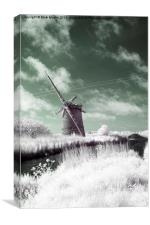 Windpump Norfolk, Canvas Print