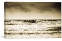Surf Cornwall, Canvas Print