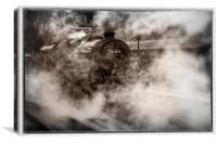 44871 Steam Locomotive, Canvas Print
