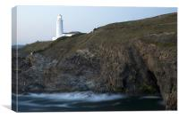 Trevose Head Lighthouse, Canvas Print