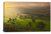 Hope Valley, Derbyshire, Canvas Print