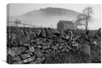 Chrome Hill, Debyshire, Canvas Print