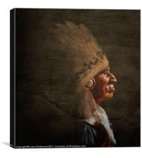 Old Chief, Canvas Print
