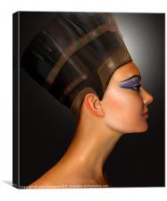 Nefertiti Queen of Egypt, Canvas Print