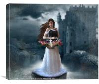 Woman of Great Expectations, Canvas Print