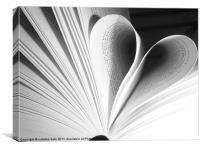 read you like a book, Canvas Print