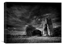 The end of St John, Canvas Print