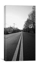 long road home, Canvas Print