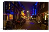 Neon Nieuwe Spiegelstaat, Canvas Print