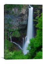 Majestic Kegon Falls, Canvas Print