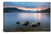 Loch Arklet Sunset, Canvas Print