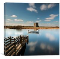 Threave Castle, Canvas Print