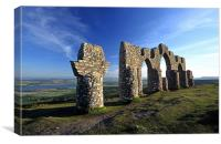 Fyrish Monument, Canvas Print