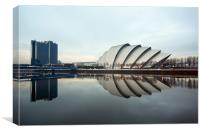 Glasgow Armadillo Auditorium, Canvas Print