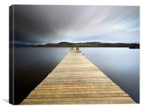 Loch Lomond long exposure, Canvas Print