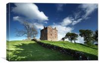 Balvaird Castle, Canvas Print