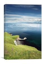 Isle of Skye seascape, Canvas Print