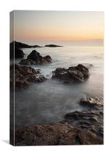 Dunure Sunset, Canvas Print