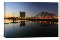 Glasgow Clyde, Canvas Print