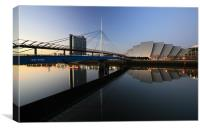 Clydeside Reflections, Canvas Print