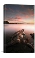 Seil Isalnd Sunset, Canvas Print