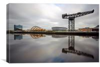 Glasgow Clyde Waterfront, Canvas Print