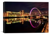 Clyde Arc Bridge, Canvas Print