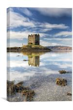 Castle Stalker, Canvas Print