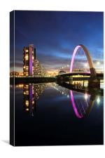 Clyde Arc, Canvas Print