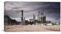 Oil Refinery, Canvas Print
